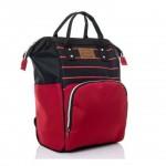Çanta Kırmızı Siyah