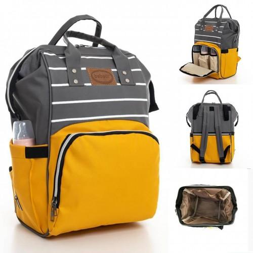 Çanta Sarı Gri