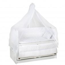 60*120 Eko Uyku Seti Beyaz